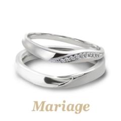 【Mariage(マリアージュ)】プレディスィ【Presdici:近くに】 メレダイヤアレンジ