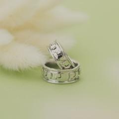 【Houte Couture Jewelry KIKUI Bridal】【お客様の想いをカタチにします  世界にたった一つだけの記念のリング】完全フルオーダーで、素敵な想いを大切なリングにします。 K18WGリングセット