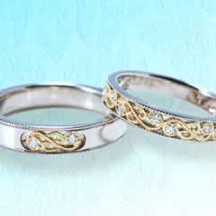 【Houte Couture Jewelry KIKUI Bridal】シェーヴルフィユ