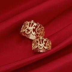 【Houte Couture Jewelry KIKUI Bridal】【お客様の想いをカタチにします  世界にたった一つだけの記念のリング】完全フルオーダーで、素敵な想いを大切なリングにします。 K18リングセット
