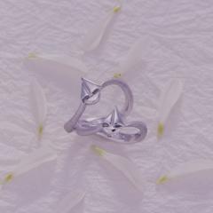 【Houte Couture Jewelry KIKUI Bridal】【お客様の想いをカタチにします  世界にたった一つだけの記念のリング】完全フルオーダーで、素敵な想いを大切なリングにします。K18WGリング