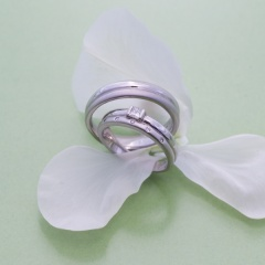 【Houte Couture Jewelry KIKUI Bridal】ダイヤ入りオーダーメイドマリッジリング