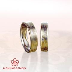 【JKPlanet(JKプラネット)】【杢目金屋】400年の歴史が刻まれる「木目金」結婚指輪