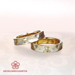 【JKPlanet(JKプラネット)】【杢目金屋】ふたりのこだわり詰め込んだ「世界にたった一つだけ」の結婚指輪