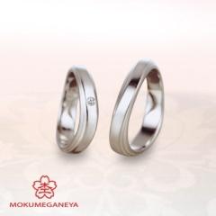 【JKPlanet(JKプラネット)】【杢目金屋】職人技が際立つ、木目金結婚指輪