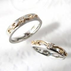 【ジュエリームナカタ(Jewelry MUNAKATA)】ツインダイヤモンド