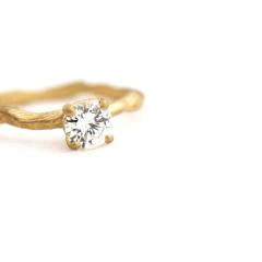 【mina.jewelry(ミナジュエリー)】小枝リング