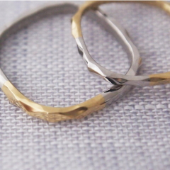 【mina.jewelry(ミナジュエリー)】ふわふわマリッジリング