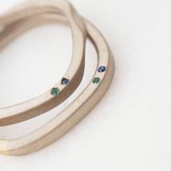 【mina.jewelry(ミナジュエリー)】さりげないところにこだわったマリッジリング