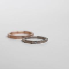 【mina.jewelry(ミナジュエリー)】ジュッカクの結婚指輪