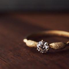 【mina.jewelry(ミナジュエリー)】エンゲージリングをセルフメーキングで。