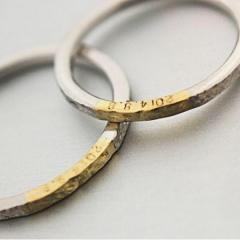 【mina.jewelry(ミナジュエリー)】シワシワマリッジリング