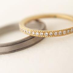 【mina.jewelry(ミナジュエリー)】エタニティのマリッジリング