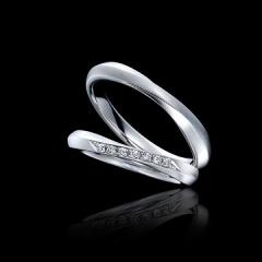 【エクセルコダイヤモンド(EXELCO DIAMOND)】《Marriage rings 358》