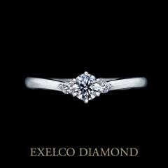 【エクセルコダイヤモンド(EXELCO DIAMOND)】2017.4.1新作《Tea Rose~ティー ローズ~》