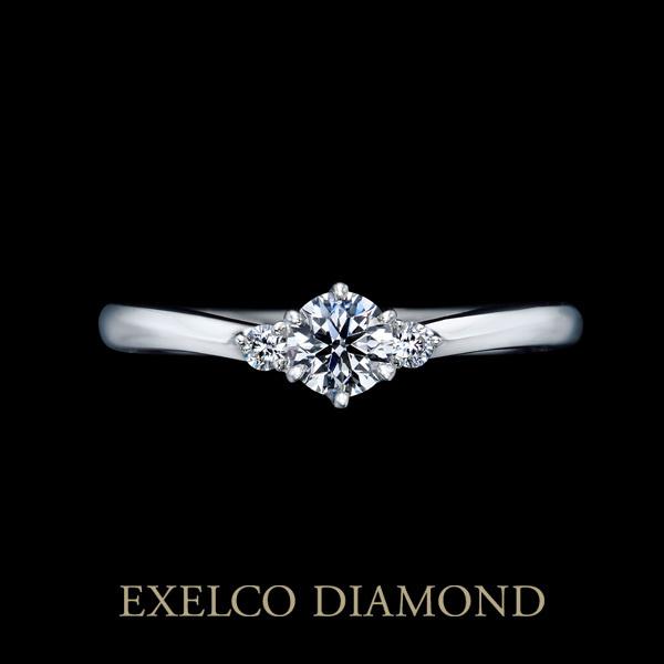 【エクセルコダイヤモンド(EXELCO DIAMOND)】《Tea Rose~ティー ローズ~》