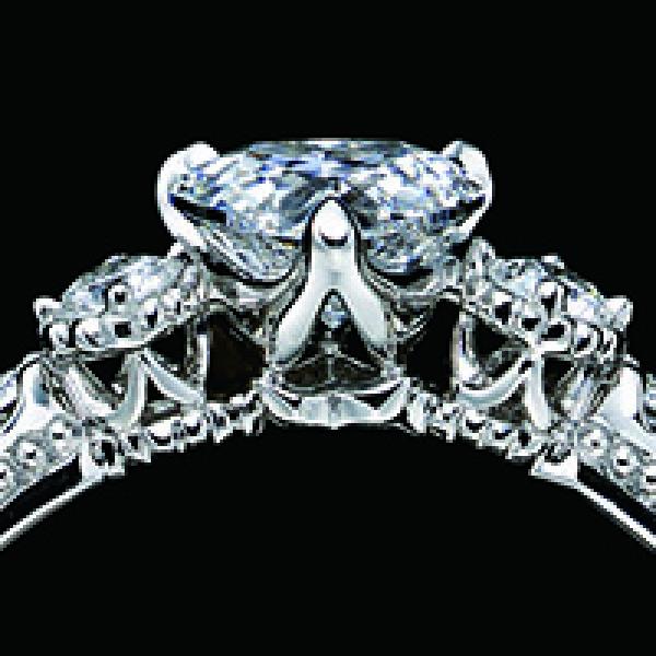 【エクセルコダイヤモンド(EXELCO DIAMOND)】《Beau Chateau~ビュー シャトー~ HEART》