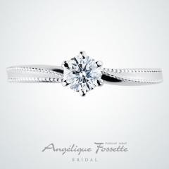 【アンジェリックフォセッテ(Angelique Fossette)】Harut【ハールート】店名にちなみ天使の名前が付けられたエンゲージリング♪