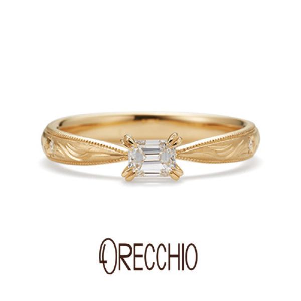 【ORECCHIO(オレッキオ)】【新作】<monaco~モナコ>婚約指輪 ME-1008