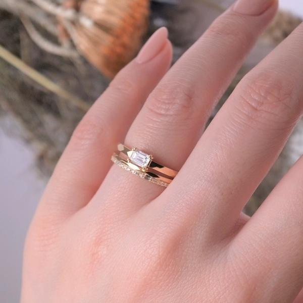 【ORECCHIO(オレッキオ)】【新作】<aman~アマン>結婚指輪 AM-2313/AM-2314