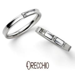【ORECCHIO(オレッキオ)】<monaco>結婚指輪 薬指にフィットする内反りのデザインで抜群の着け心地