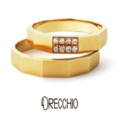 【ORECCHIO(オレッキオ)】<safari>結婚指輪 エッジのきいたフォルムが男性にも大人気!