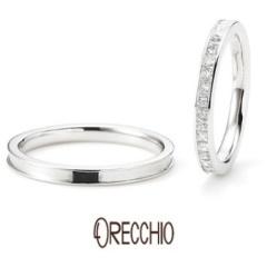 【ORECCHIO(オレッキオ)】<monaco> メンズ、レディースともプリンセスカットの拘りリング