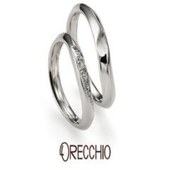 【ORECCHIO(オレッキオ)】ネロリ~婚約指輪と結婚指輪の重ね着けでハートが浮かぶエレガントな結婚指輪