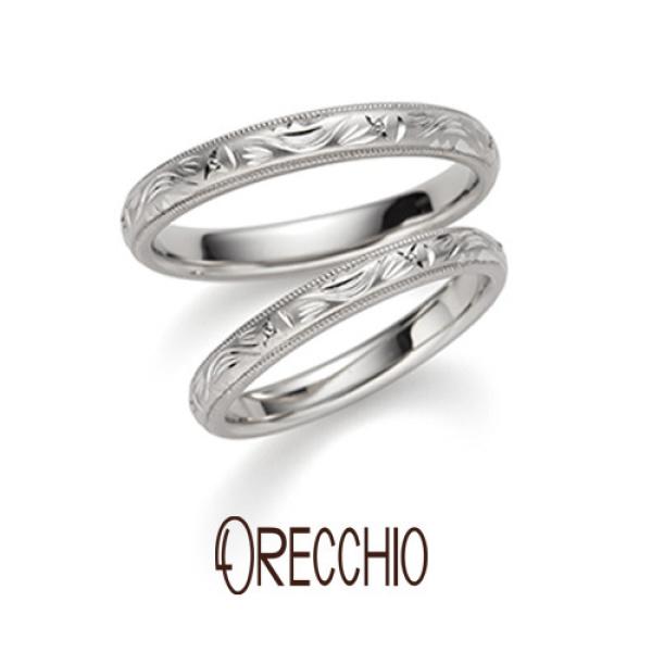 【ORECCHIO(オレッキオ)】【新作】<monaco~モナコ>結婚指輪 MM-2020/MM-2019