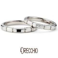 【ORECCHIO(オレッキオ)】<safari> 小さなパーツを組み合わせたような動きのあるデザインが特徴の指輪