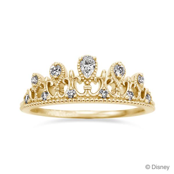 【ケイウノ ブライダル(K.UNO BRIDAL)】Disney / プリンセス・ティアラ ペアシェイプド