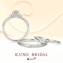 【ケイウノ ブライダル(K.UNO BRIDAL)】Corolla -コロッラ-