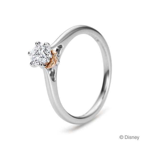 【ケイウノ ブライダル(K.UNO BRIDAL)】【NEW】The Enchanted Rose ~ 『美女と野獣』/結婚指輪~