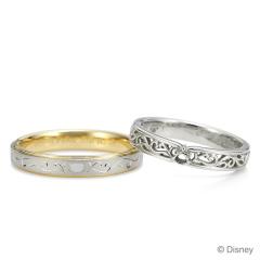 【ケイウノ ブライダル(K.UNO BRIDAL)】Disney / オーダーメイド結婚指輪