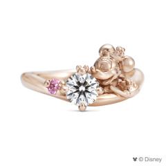 【ケイウノ ブライダル(K.UNO BRIDAL)】Disney / オーダーメイド婚約指輪
