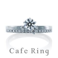 【Cafe Ring(カフェリング)】【ラブスタイル】HAN AHN SOON コラボレーションリング