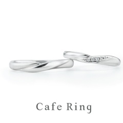 【Cafe Ring(カフェリング)】【Fuji_富士山】SPECIAL EDITION 結婚指輪