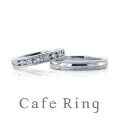 【Cafe Ring(カフェリング)】【ルーチェ / パレット】大人花嫁「極上のつけごこち」リング