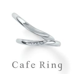 【Cafe Ring(カフェリング)】【カメリア】SPECIAL EDITION 結婚指輪 ~指に咲く椿の花~