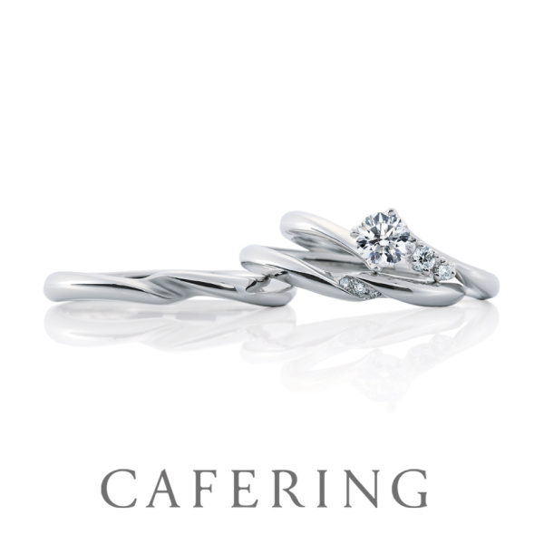 【CAFERING(カフェリング)】Toris Noix duo 3つの幸せ