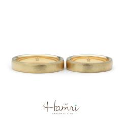 【Hamri(ハムリ)】星のリング