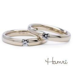 【Hamri(ハムリ)】【手作り結婚指輪】Takashi&Kaya様