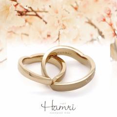 【Hamri(ハムリ)】ハートの知恵の輪リング