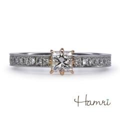 【Hamri(ハムリ)】【手作り婚約指輪】Fumiya様