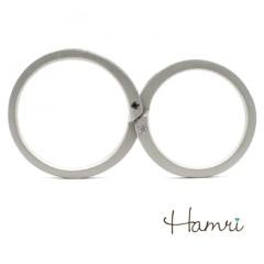 【Hamri(ハムリ)】【手作り結婚指輪】Makoto&Mayu様