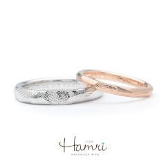 【Hamri(ハムリ)】指紋リング