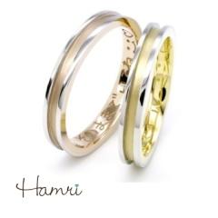 【Hamri(ハムリ)】【手作り結婚指輪】Yuichi&Yurie様