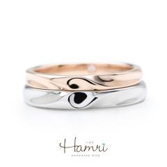 【Hamri(ハムリ)】合わせて♡リング