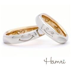 【Hamri(ハムリ)】【手作り結婚指輪】Masahiro&Yumi様