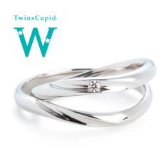 【アネリディギンザ(ANELLI DI GINZA)】TwinsCupid Happy Waveハッピーウェーブ